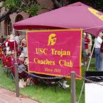 Trojan Coaches Club Gameday Tailgate